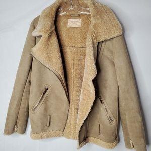 2/$100   Zara sherpa jacket